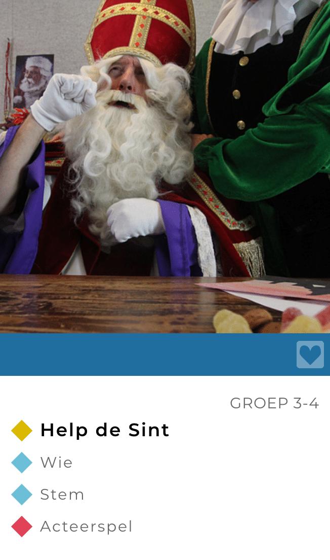Lessen Sinterklaas drama