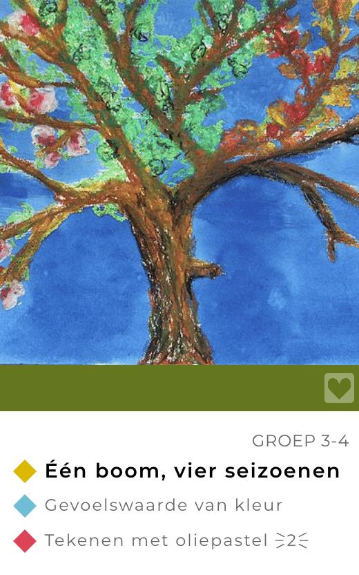 Lijn 3 themas: de boom