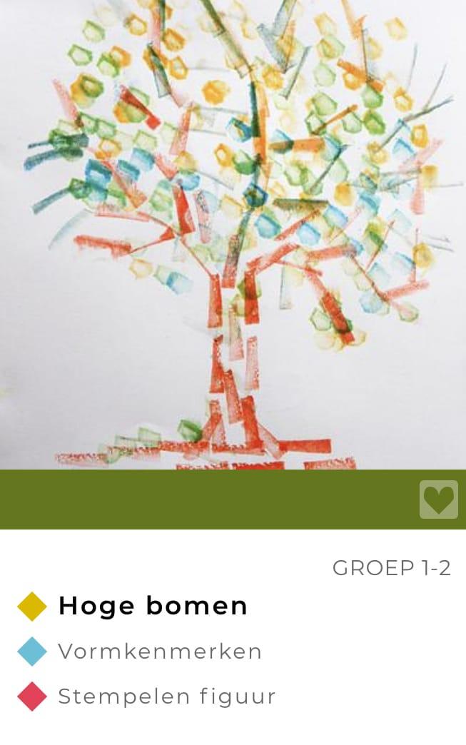 lesideeën herfst groep 1-2 bomen